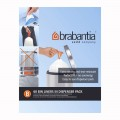 Brabantia 5 litre B bin liners dispenser pack of 50