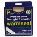 Warmseal P strip draught excluder 5m