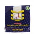Warmseal foam draught excluder 5m