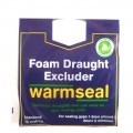 Warmseal foam draught excluder 15m