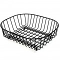 Delfinware 2947BK oval sink basket black