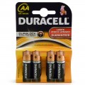 Duracell AA MN1500 batteries pack of 4