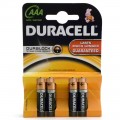 Duracell AAA MN2400 batteries pack of 4