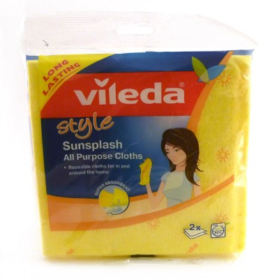 Vileda sunsplash cloth pack of 2