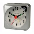 Acctim ingot silver alarm clock
