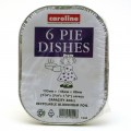 Caroline 1034 pie dishes pack of 6
