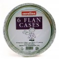 Caroline 1054 flan cases pack of 6