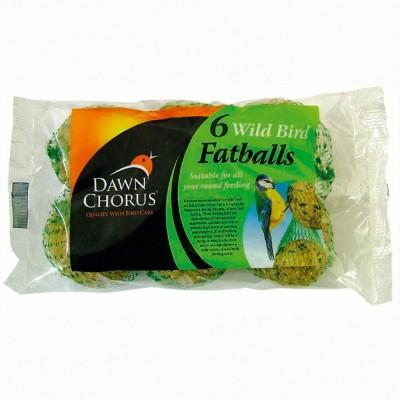 Dawn chorus fatballs pack of 6