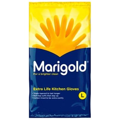 Marigold rubber gloves