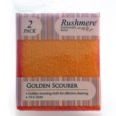 Rushmere golden scourer pack of 2