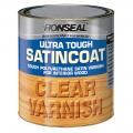 Ronseal ultra tough satincoat clear varnish 250ml