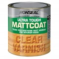 Ronseal ultra tough mattcoat clear varnish 250ml