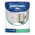 Johnstone's quick dry satin brilliant white 750ml