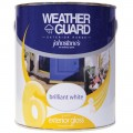 Johnstone's weatherguard exterior gloss brilliant white 750ml