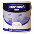 Johnstone's vinyl matt emulsion brilliant white 2.5 litre