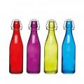 Kitchencraft Coloured Glass Bottles 500ml