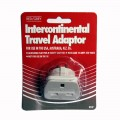 Red/grey Intercontinental travel adaptor