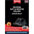 Rentokil Rodine mouse & rat killer 4 sachet pack