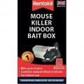 Rentokil mouse killer indoor bait box x1