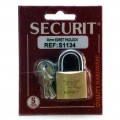 Egret 30mm brass padlock