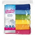 Sorbo Microfibre cloths pack of 6