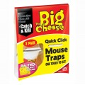 STV big cheese quick click mouse traps pack of 2