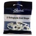 Swish sologlyde end stops pack of 2