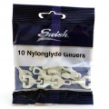 Swish nylonglyde gliders pack of 10