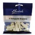 Swish sologlyde brackets pack of 5