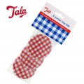 Tala gingham screw top lids set of 3