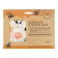 Tala Beeswax Sandwich and Snack Bags x2