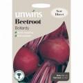 Unwins beetroot seeds (Boltardy)
