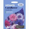 Unwins cornflower seeds (double mix)
