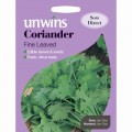 Unwins coriander seeds (fine leaved)