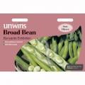 Unwins broad bean seeds (bunyards exhibition)